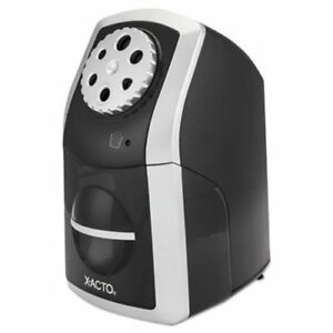 X acto Sharpx Performance Electric Pencil Sharpener Black silver epi1772lmr