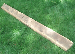 Antique 1700s House Barn Hand Hewn Beam 3 X 6 X 78 Wood Species Unknown Old