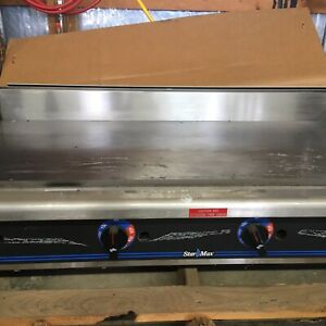 New Star Max 48 Commercial Gas Griddle