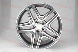 20 Mercedes Benz Ml63 Amg Style Rims Wheels Fits Ml350 Ml500 Ml550 Gl450 Gl550
