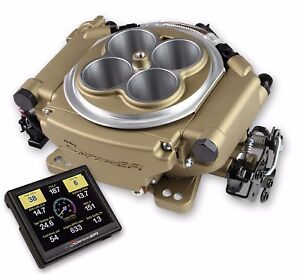 1200hp Holley Efi Blow Through Supercharger Turbo Conversion Kit Gold 550 517