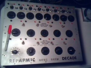 Home Brew Paper Mica Decade Capacitor Kit Not Completed But Close Vintage