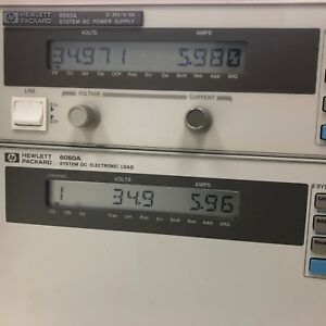 Hp Agilent Keysight 6643a Dc Power Supply 0 35v 0 6a Load Tested Accurate