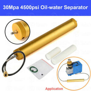 Oil Water Separator Filter 30mpa Air Pump Compressor High Pressure Scuba Diving