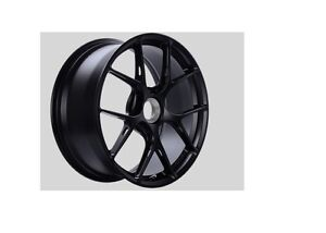 Bbs Satin Black Fi R Wheel 20x9 5 Porsche Center Lock Et50 Fi142bs