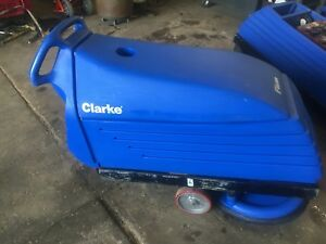 2 Clarke Fusion 20t Floor Burnisher Cleaner Scrubber Polisher 36v