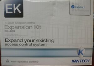 Kantech Ek 403 4 door Controller 4 Ioprox Readers Transformer Kt 400 P325xsf