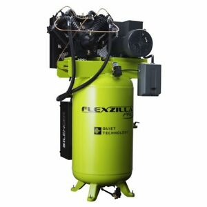 Legacy Fxs10v080v1 10hp 80 Gallon Flexzilla Stationary Pro Air Compressor