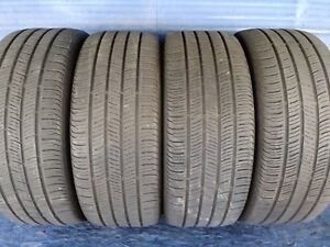 4 Continental Pro Contact Ssr Rft 225 45 18 Bmw With 6 32nd Tread Left 91 V