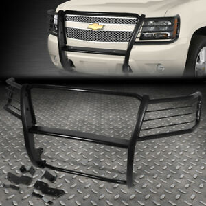For 07 14 Chevy Tahoe suburban 1 5 mild Steel Front Bumper Grille Brush Guard