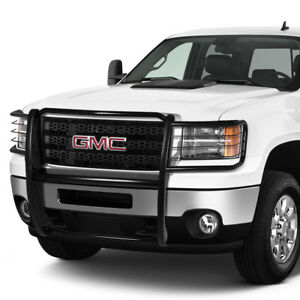 1 5 od Mild Steel Front Bumper Grille Brush Guard Frame For 2011 2014 Gmc Sierra