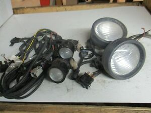 Universal Pickup Fog Lights With Wiring Harness And Switch