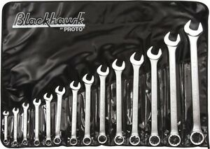 Blackhawk By Proto Mf 014 Combination Wrench Set 14 Pieces