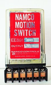 Namco Motion Switch Relay Ee891 12103 1 Set Form C 10a 120v 12 Pin Post