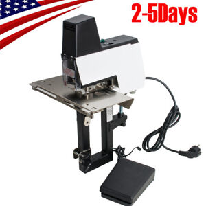 Durable Electric Auto Rapid Stapler Flat W Saddle Binder Machine Book Binding