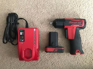 Snap on very Good 1 4 Drive Ct725 14 4 volt Impact Wrench Set