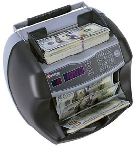 money Counter Machine Denomination Counterfeit Bill Detection Bank Cash Uv mg
