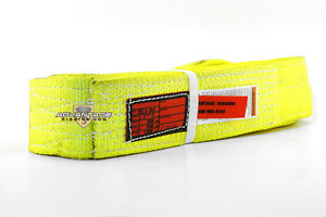 Ee2 903 X8ft Nylon Lifting Sling Strap 3 Inch 2 Ply 8 Foot Feet Length Usa Made