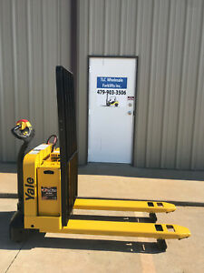 2014 Yale Electric Pallet Jack Model Mpw050 Forklift Walkie Only 1708 Hours