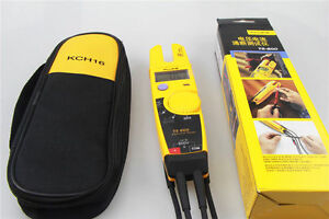 New Fluke T5 600 Clamp Continuity Current Electrical Tester Soft Case Kch16