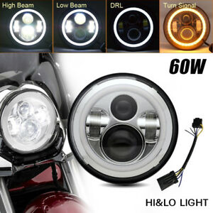 7inch Led Headlight Projector Motorcycle Lamp For Harley Jeep Wrangler