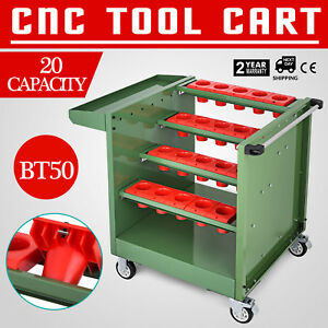 Bt50 Cnc Tool Trolley Cart Holders Toolscoot Snap On Cabinet Super Scoot