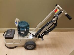 Good Condition Edco 10 Concrete Floor Grinder Scariffier model 50200 hd