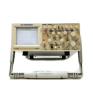 Bk Precision 2190b 100 Mhz Dual trace Oscilloscope W Delayed Sweep Refurbished