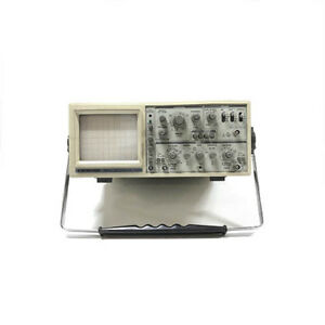 Bk Precision 2190a 100mhz Analog Oscilloscope Refurbished