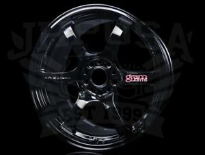 Rays Gram Lights 57dr Wheels Gloss Black 18x9 5 5x114 38 Offset