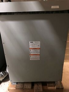Siemens 300 Kva 3 P Transformer 480d 208y 120 Cat 3f3y300d16 Copper Winding