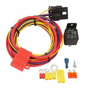 Electric Fuel Pump Relay Wire Kit Holley Quick Fuel 30 199