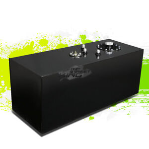 19 Gallon Lightweight Black Aluminum Gas Fuel Cell Tank Sender 29 75 x12x12
