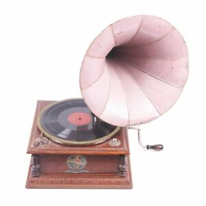 Antique Old French Gramophone Music Box