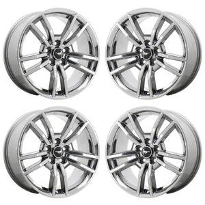 18 Ford Mustang Gt Pvd Chrome Wheels Rims Factory Oem Set 10030 Exchange