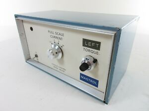 Magtrol 4637b Torque Control Current Regulated Power Supply