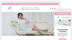 Shopify Dropshipping Women s Plus Size Fashion Website store Ready Made
