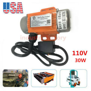 110v 40w Ac Vibration Motor 1ph Industrial Asynchronous Vibrating Motor 3600rpm