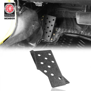 Driver Left Side Dead Fixed Pedal Textured Iron For Jeep Wrangler Tj 1997 2006