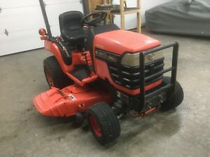 Kubota Bx1500hsd Subcompact Diesel Tractor W 54 Belly Mower 4x4 No Reserve