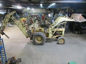 John Deere 400 Diesel Loader Backhoe