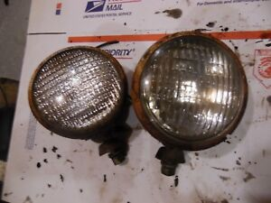 1955 Oliver Super 55 Gas Farm Tractor Rear Work Lights