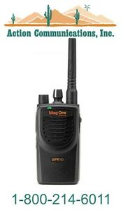 New Motorola Bpr40 Uhf 450 470 Mhz 4 Watt 8 Channel Two way Radio