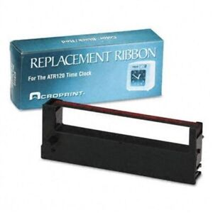 Acroprint Time Recorderreplacement Ribbon For Time Clock Model Atr120