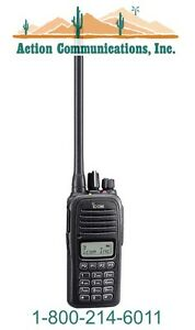 New Icom Ic f1000t 09 Vhf 136 174 Mhz 5 Watt 128 Channel Two Way Radio