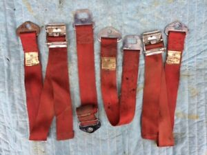 Red Seat Belts Gm El Camino Chevelle