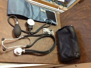 adc Pat 114444 Stethoscope And Mooremedical Blood Pressure Cuff