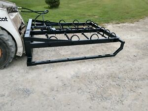 8 Bale Hay Accumulator Loader Grapple Ships Free Within 1000 Miles