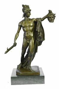 Perseus With The Head Of Medusa Bronze Statue After B Cellini 15 X 12