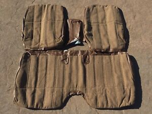 1984 1988 Toyota Truck Std Hilux Nos Factory Body Cloth Bench Tacoma Sr5 4runner
